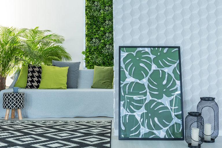 prestations de décoration en ligne - décoration végétal tropical